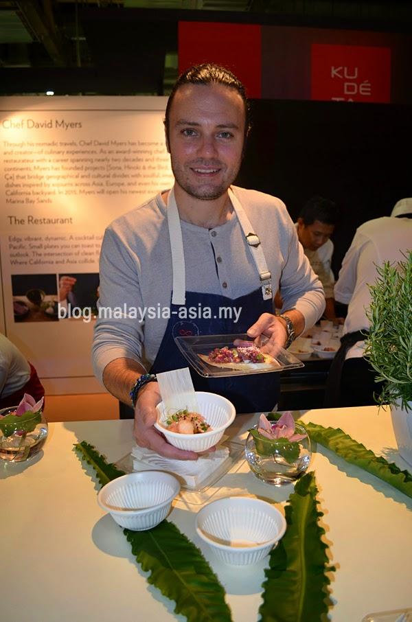 Chef David Myers Singapore