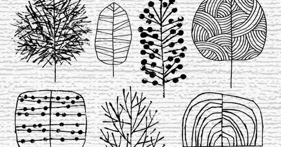 Club de art journal de qu bec inspirations arbres - Dessin arbre nu ...