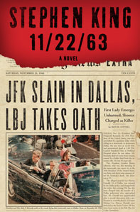 Portada original de 22/11/63, de Stephen King