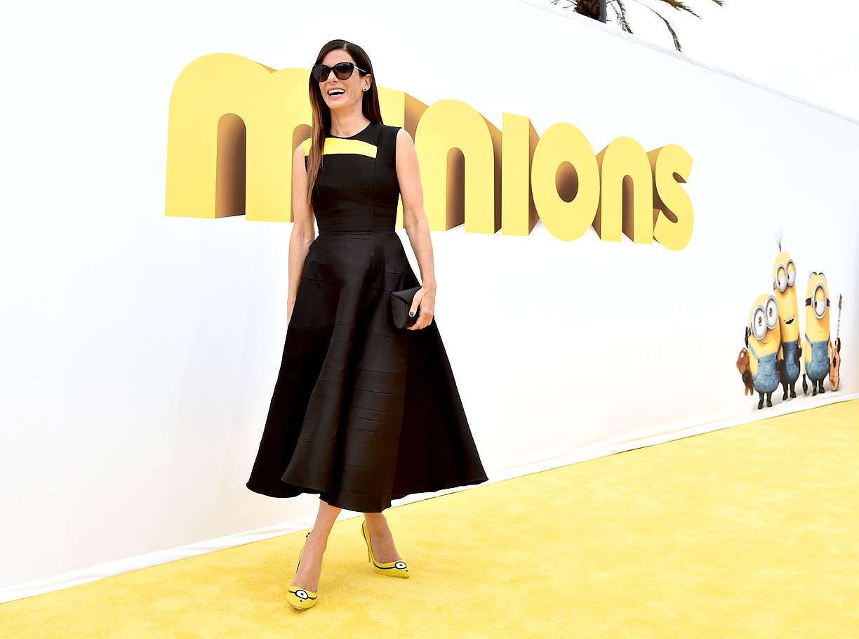 Eniwhere Fashion - Sandra Bullock - Minions shoes - Sanderson