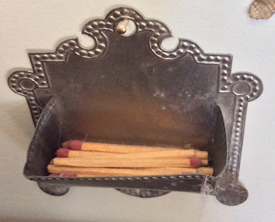 Victorian Match Holder NO. 2