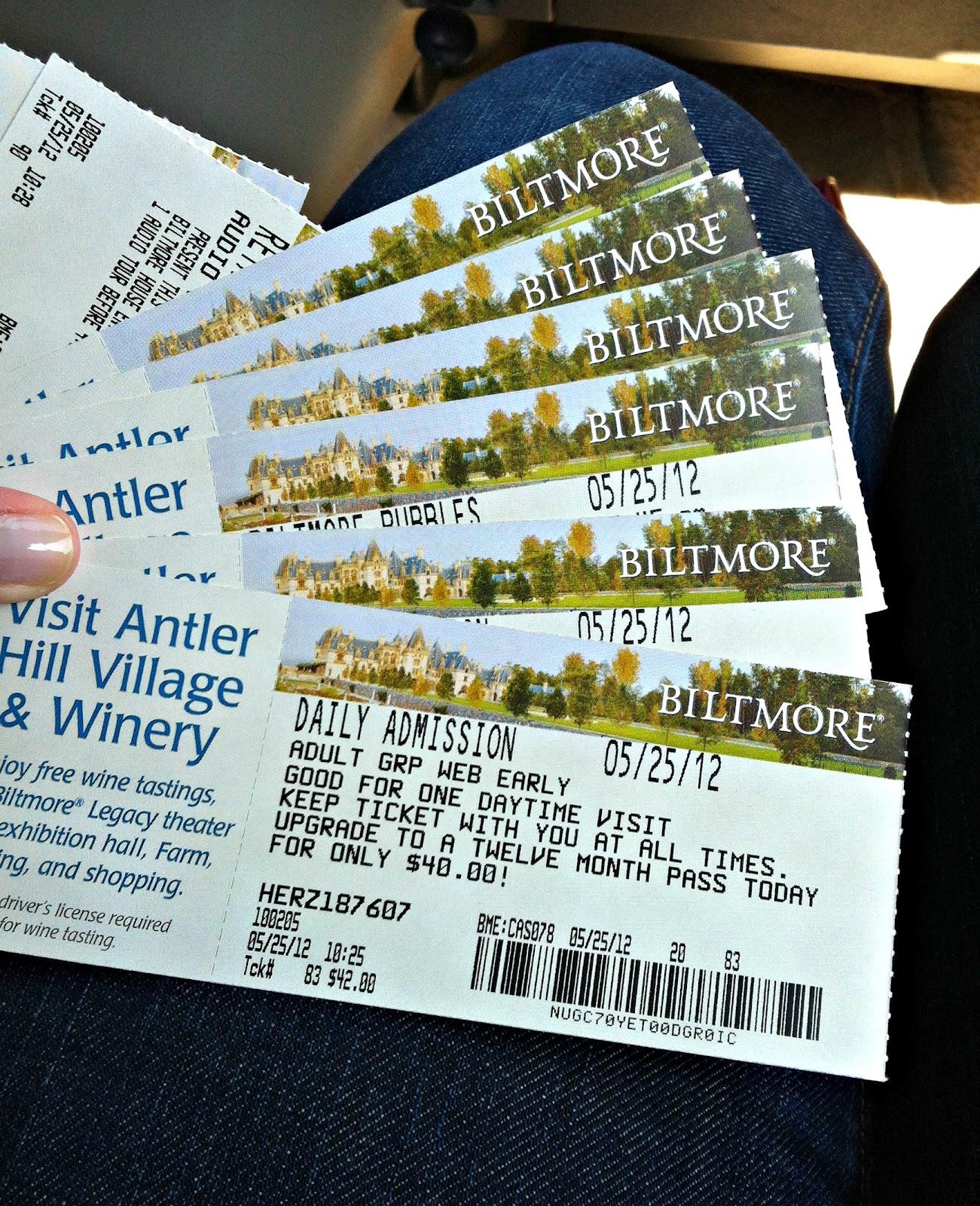 Biltmore Tour Discount Tickets