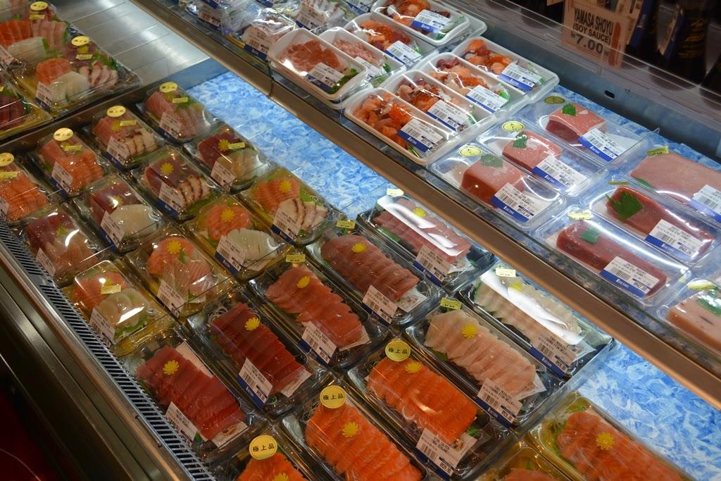 Suria KLCC sashimi