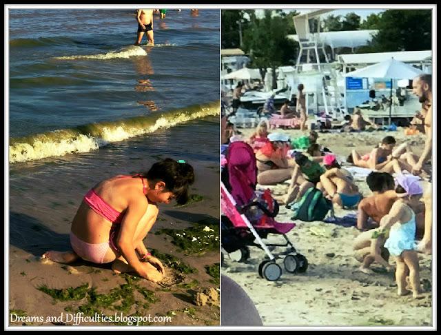 public beach in Odessa
