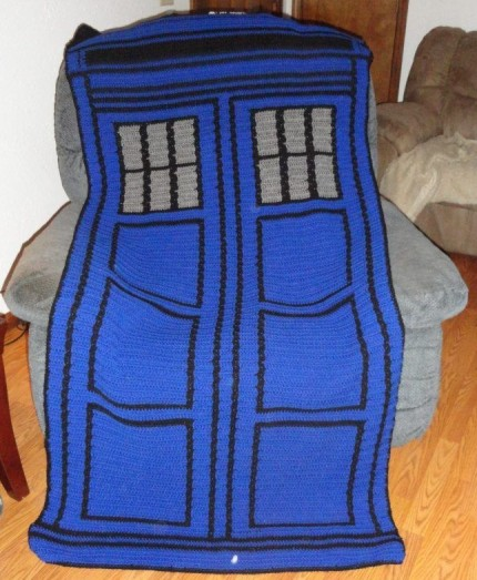 Blue Police Box - Free Pattern