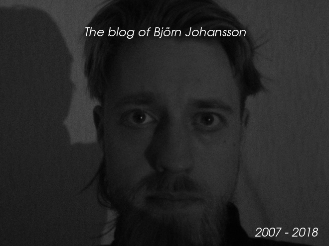 The blog of Björn Johansson