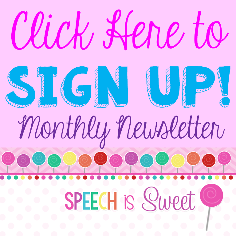 Newsletter Sign Up!