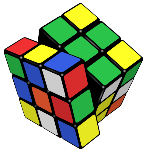 Remaja selesaikan kiub Rubik 7.36 saat