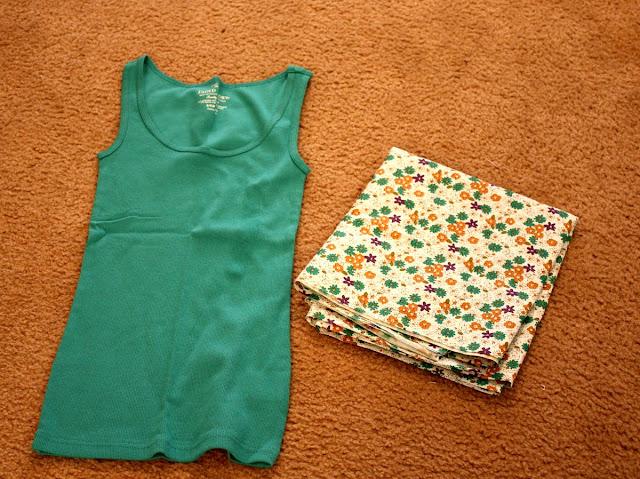 Как из футболки сделать платье-майку