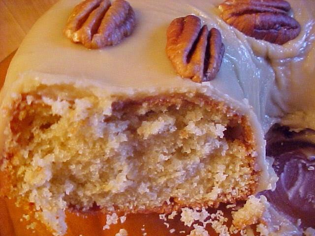 Gâteau glaçage au sucre à la crème
