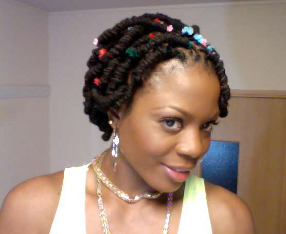 loc with pipe cleaners hairstyles