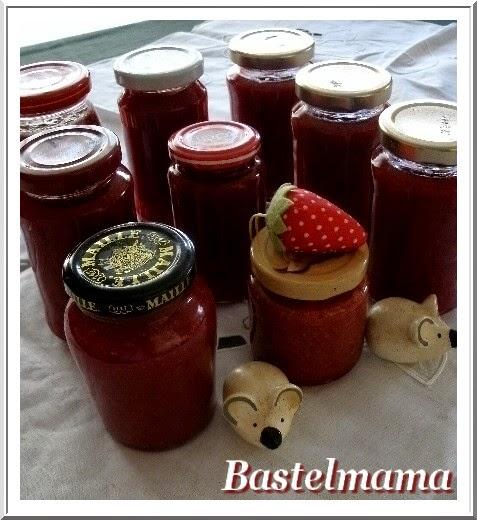 Einkochen, Marmelade, Erdbeeren