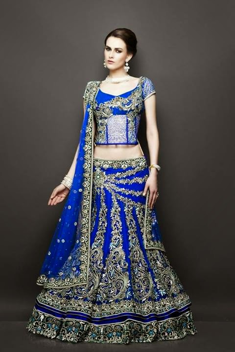 Latest ghagra choli designs