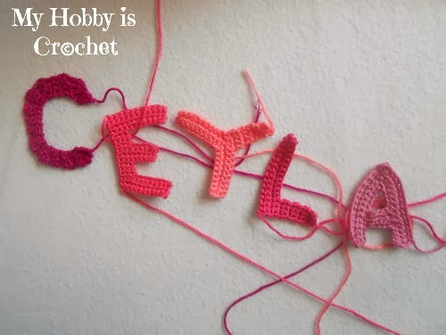 My Hobby Is Crochet Crochet Letters Applique And A New Look For A