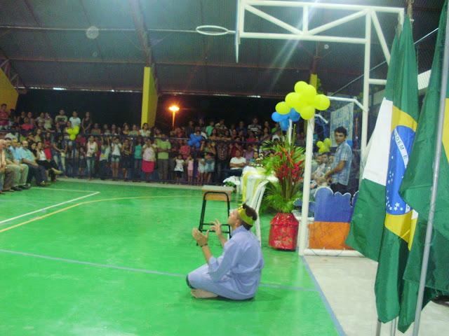 Inauguração da nova quadra poliesportiva de Padre Vieira