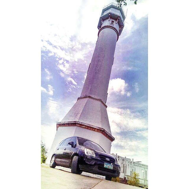 Kia Carens at Bolinao Light House