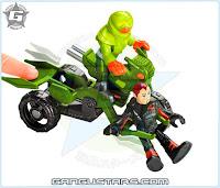 Imaginext Axle & Motorcycle unreleased new 2016 Joker cycle DC comics Batman