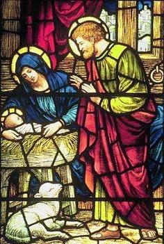 prières de Noël catholiques - à la crèche
