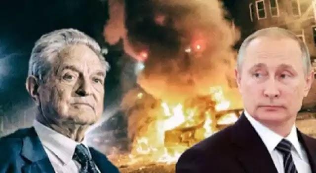 Πούτιν: Ο Σόρος οδηγεί τις ΗΠΑ σε εμφύλιο πόλεμο.