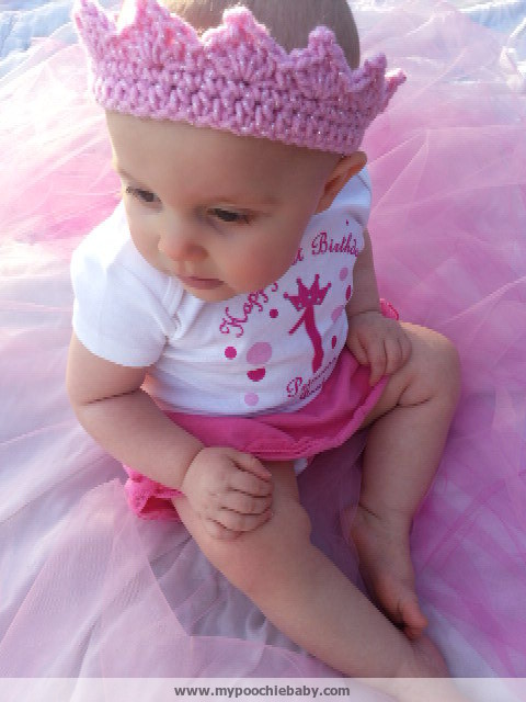 Raising Mimi Poochiebaby Crochet Toddler Crown Free Pattern
