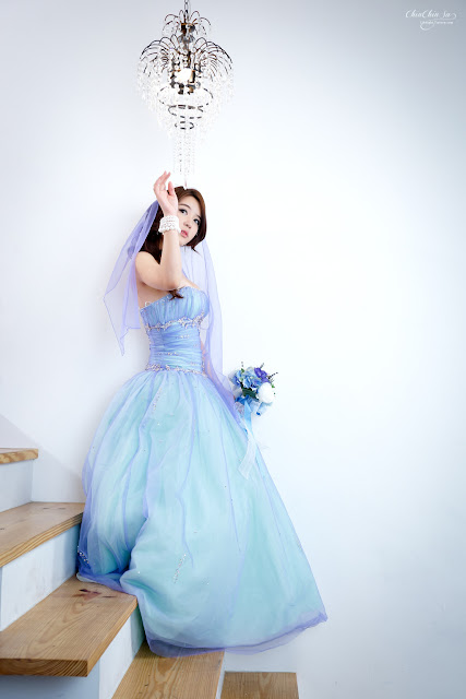 Yoon Joo Ha Lovely in Wedding Dress
