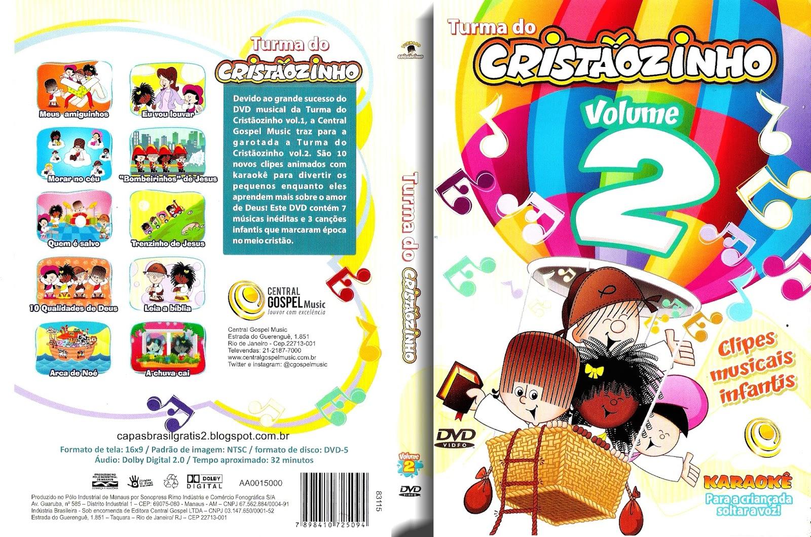 Download Turma Do Cristãozinho Volume 2 DVD-R Turma Do Crist C3 A3ozinho Vol