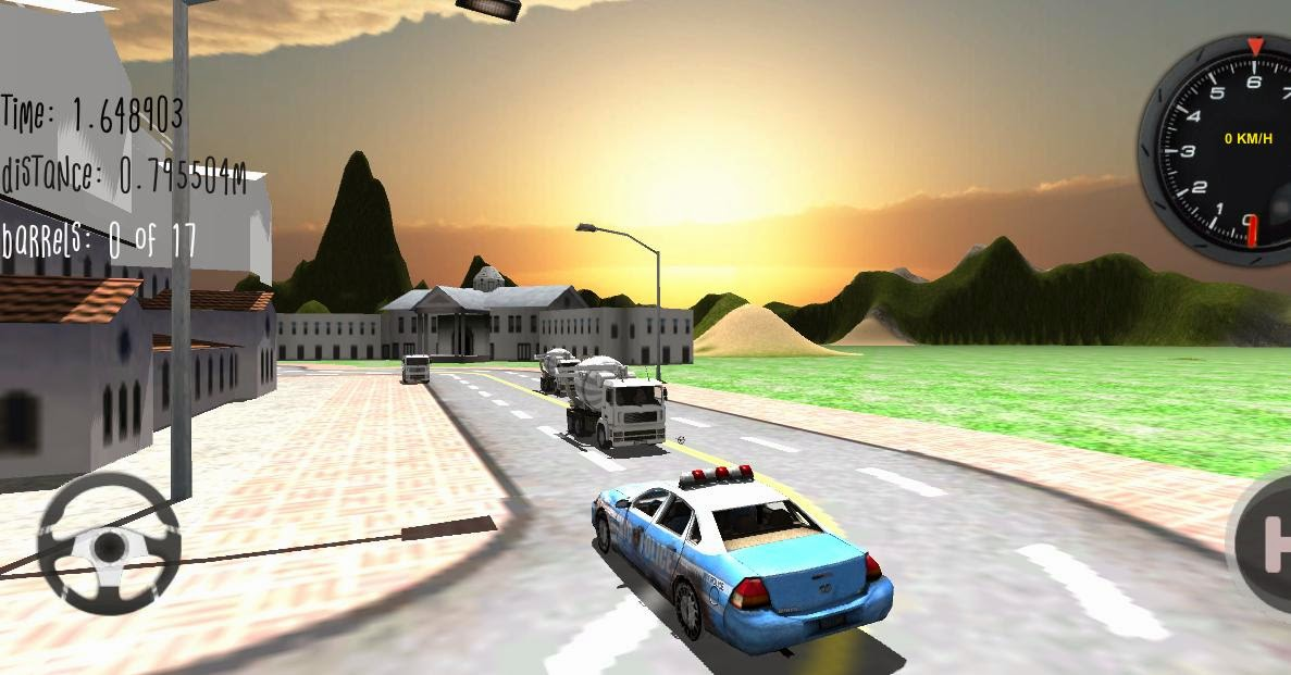 Police Car Driver 3D Android Apk Oyun resimi 3