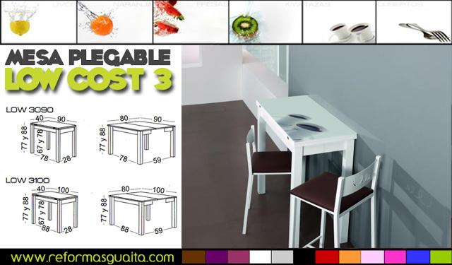 Awesome Mesas De Cocina Plegables Baratas Pictures - Casas: Ideas ...