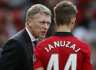 David Moyes+Januzaj Manchester United 2013