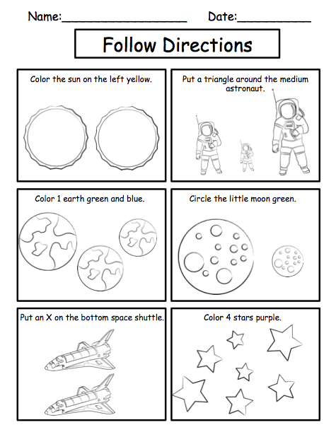 solar system activity worksheet - photo #28