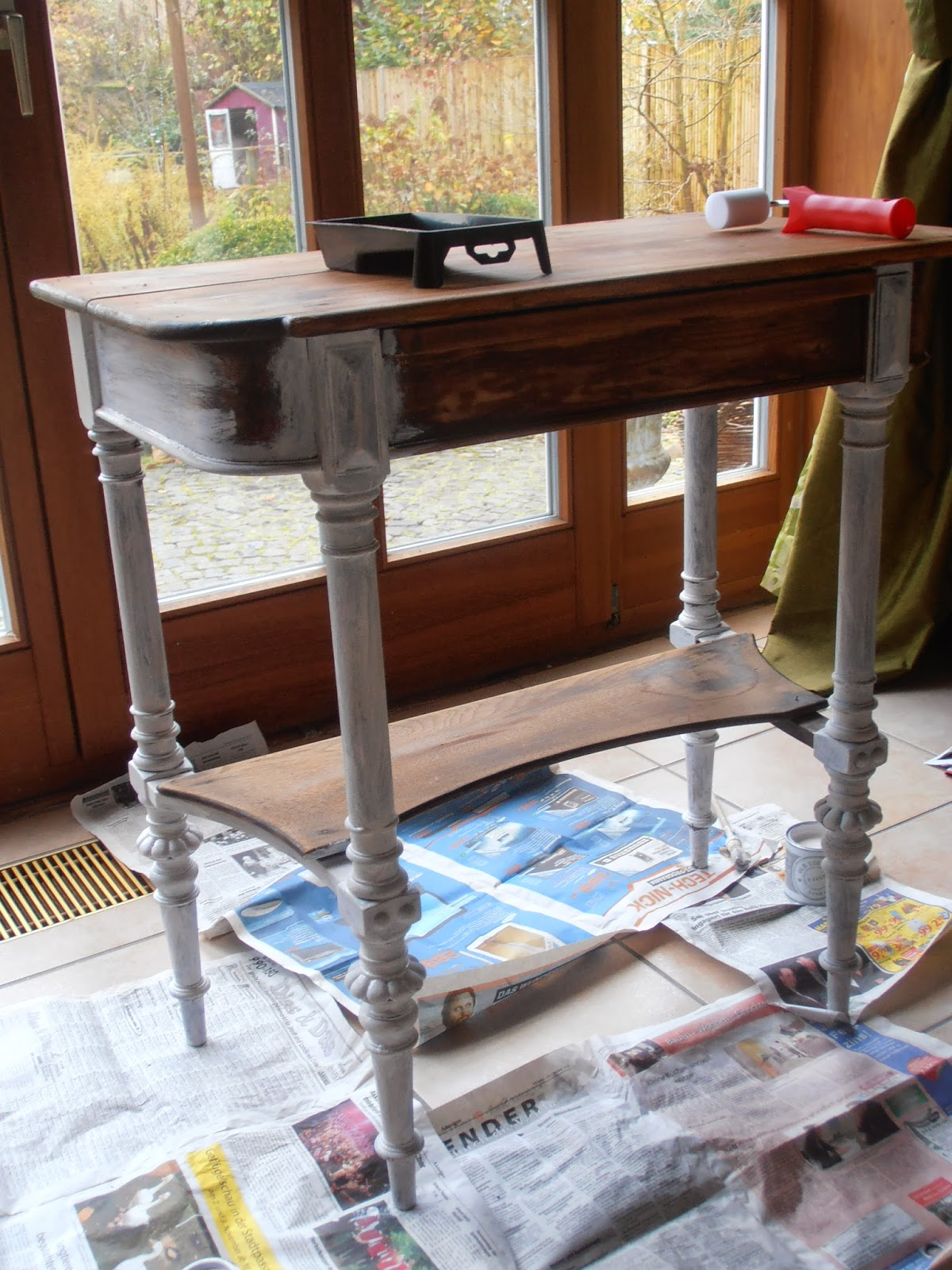 sweet home rosa lia spontaner streichanfall. Black Bedroom Furniture Sets. Home Design Ideas