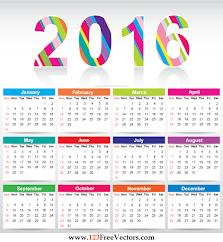 Kalendar 2016