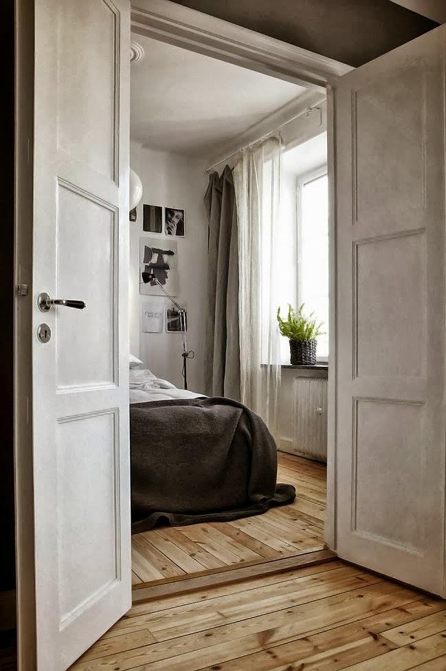 Decordemon a beautiful grey apartment - Decoracion industrial vintage ...