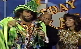 WWF / WWE - This Tuesday in Texas 1991 - Randy Savage offers a few words for Jake 'The Snake' Roberts