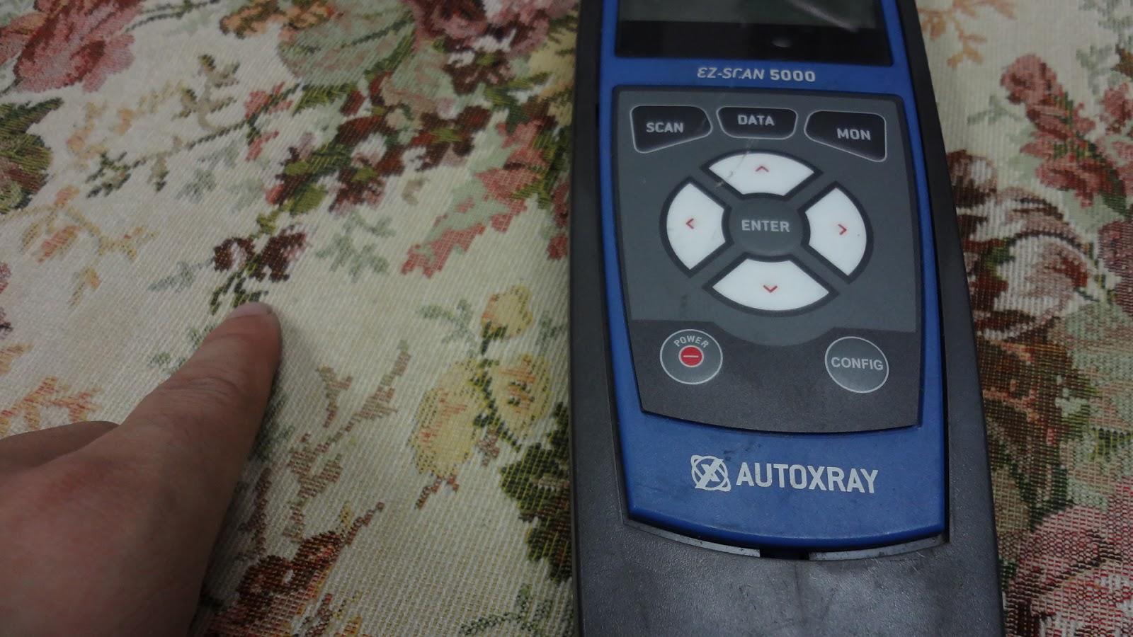 autoxray ez-scan 5000 scanner