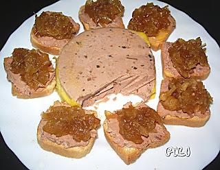 los pucheros de nuria canap s de foie y cebolla caramelizada