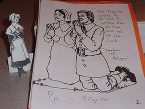 """Pp"" is for Pilgrims..."