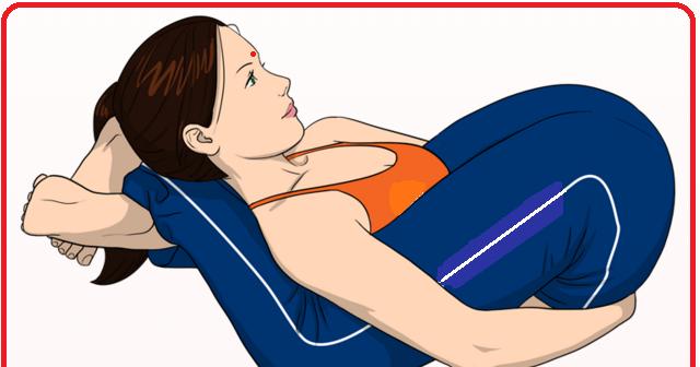 SANSKRUTI YOGA & MEDITATION: Yoganidrasana (Sleeping Yogi Yoga Pose)
