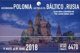 Descubriendo Polonia, Báltico y Rusia