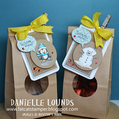 Snow Day Tags by Danielle Lounds for Newton's Nook Designs!