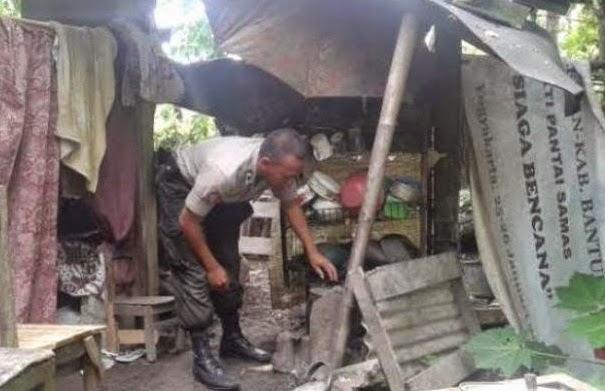 Briptu Taufiq, Tinggal di Kandang Sapi Karena Himpitan Ekonomi