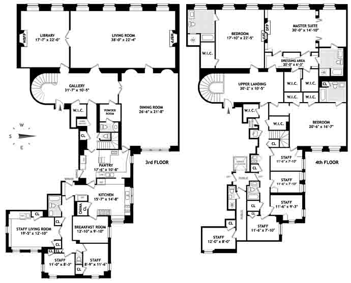 834 Fifth Avenue Floor Plan