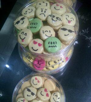 kue kering emoticon enak spesial lebaran natal dan tahun baru 2013 kue ...