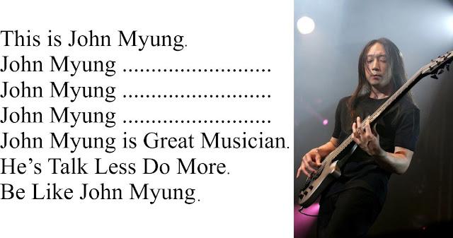 Be Like John Myung