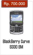 Spesifikasi Dan Harga BlackBerry Curve 8330