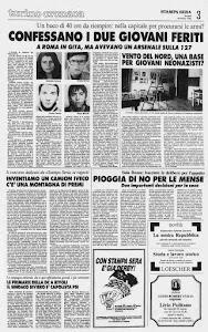 LA STAMPA 25 MARZO 1985