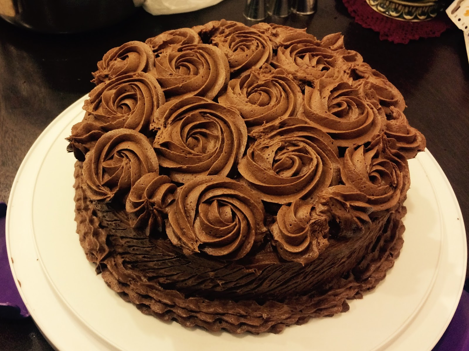 The Best Chocolate Cake Ever - According to Mimi