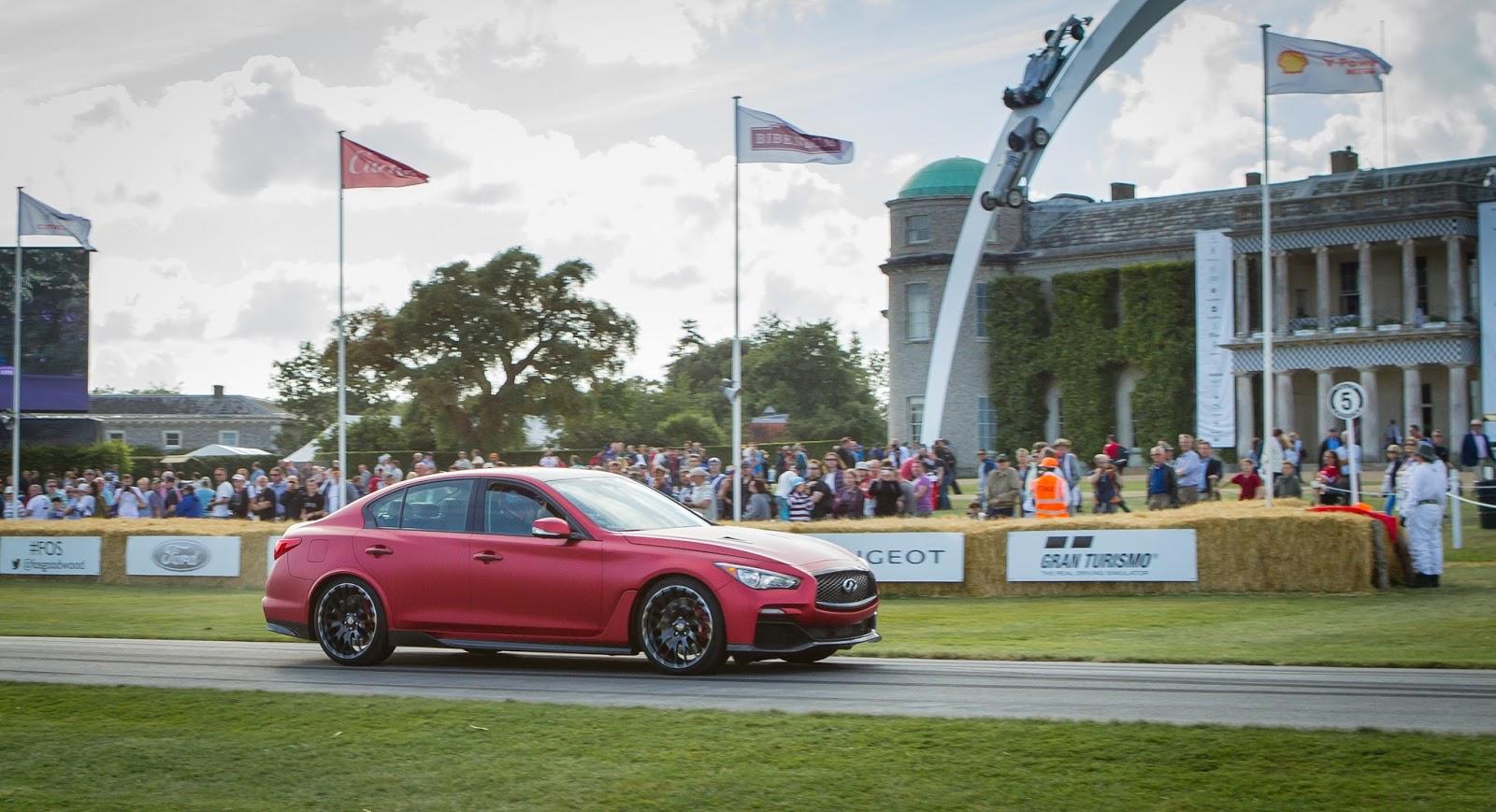 Infiniti Q50 Eau Rouge | Goodwood Festial of Speed 2014