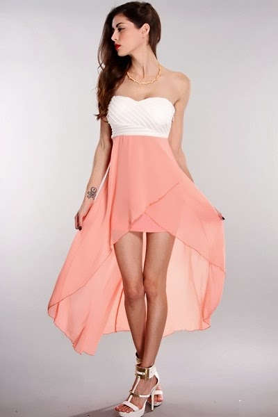 high low summer dress