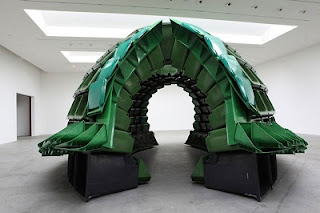 Esculturas con Material Reciclado, Arte y Ecoresponsabilidad